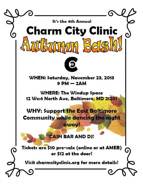 Autumn Bash Flyer 2013